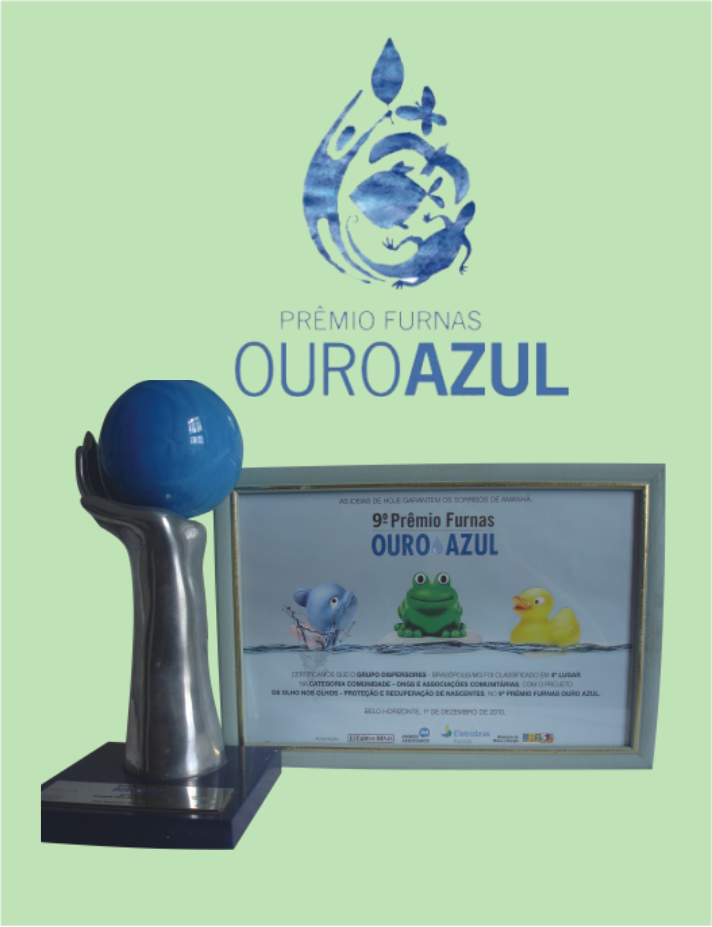 Furnas Ouro Azul Award